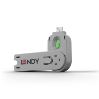 USB Type A Port Blocker Key, green