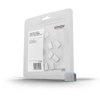 USB Port Blockers, blue, 10pcs