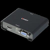 HDMI to HDMI & VGA with Audio Splitter