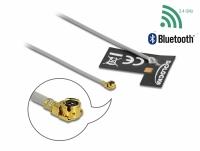 Delock WLAN 802.11 b/g/n Antenna MHF® I plug 2 dBi 1.13 10 cm FPC internal self-adhesive