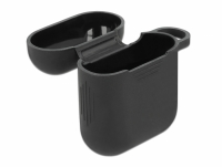 Delock Silicone Protective Case for Apple AirPods charging case black