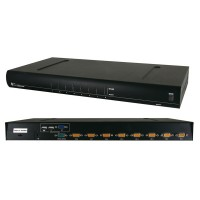 "VALUE 19"" KVM Switch with OSD, 1 User - 8 PCs, PS/2+USB"