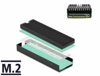Delock Heat Sink for M.2 SSD 2280 black