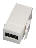 Lindy Reversible USB A/A F/F Keystone