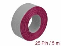 Delock Flat Ribbon Cable 25 pin, 1.27 mm pitch, 5 m