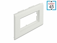 Delock Easy 45 Module Holder for installation trunking 130 x 80 mm