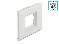 Delock Easy 45 Module Holder for installation trunking 85 x 80 mm
