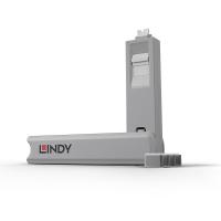 Lindy USB Type C Port Blocker 4pcs with Key, white