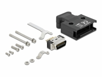 Delock MDR male 20 pin solder connection with housing
