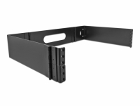 Delock 19″ Wall Mount Rack 2U foldable black