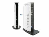 Delock USB Docking Station Dual HDMI Full-HD / USB 3.2 / LAN / Audio