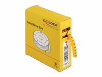 Delock Cable Marker Box, No. 6, yellow, 500 pieces