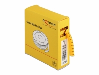 Delock Cable Marker Box, No. 2, yellow, 500 pieces