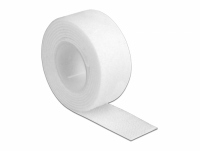 Delock Velcro tape on roll L 1 m x W 20 mm white