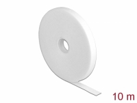 Delock Velcro tape on roll L 10 m x W 13 mm white