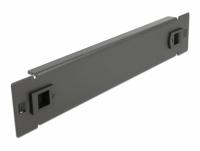 Delock 10″ Network Cabinet Blind Cover tool free 1U black