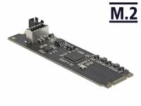 Delock Converter M.2 Key B+M male to 1 x internal USB 3.2 Gen 2 key A 20 pin female