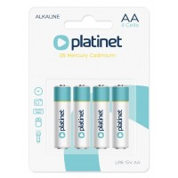 PLATINET BATTERY ALKALINE PRO LR6/AA BLISTER*4