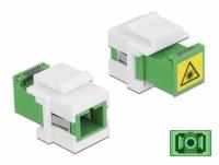 Delock Keystone Module SC Simplex female to SC Simplex female with laser protection flip inside