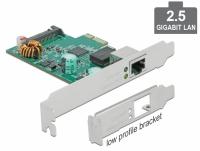 Delock PCI Express x1 Karte 1 x RJ45 2,5 Gigabit LAN PoE+ RTL8125
