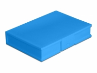 Delock Protection Box for 3.5″ HDD blue