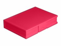 Delock Protection Box for 3.5″ HDD red
