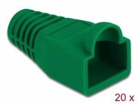 Delock Strain relief for RJ45 plug green 20 pieces