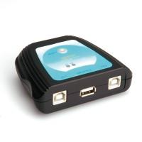 VALUE Manual USB 2.0 Printer Switch, 2 Ports