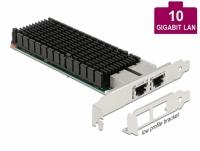 Delock PCI Express x8 Card 2 x RJ45 10 Gigabit LAN X540
