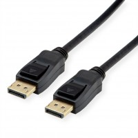 VALUE DisplayPort Cable, v1.4, DP-DP, M/M, black, 5 m