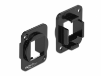 Delock Keystone Mounting 1 Port for D-type metal