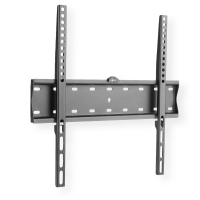 VALUE TV wall mount, 27mm wall distance, 40kg load capacity, black