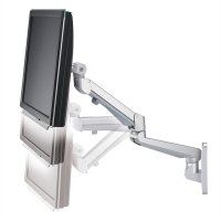 ROLINE LCD Monitor Stand Pneumatic, Wall Mount, Pivot, 2 Joints