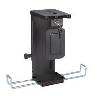 ROLINE Slim/Mini PC Holder, lockable, black