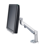 ROLINE LCD Monitor Stand Pneumatic, Desk Clamp, Pivot, 1 Joint