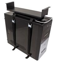 ROLINE PC Holder, extensible, rotatable, black