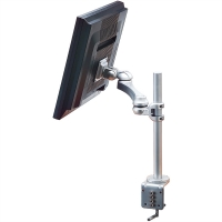 ROLINE Single LCD Monitor Arm, 3 Joints, Desk Clamp