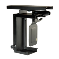 ROLINE Mini PC Holder, extendable, with rotation function, black