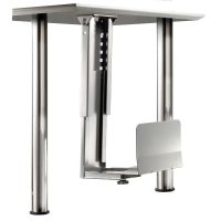 ROLINE PC Holder, silver