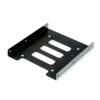 Roline HDD/SSD Mounting Adapter, 3.5 inch frame for 1x 2.5 inch HDD/SSD, metal, black