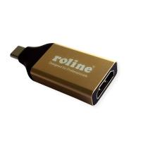 ROLINE GOLD Type C - HDMI Adapter, M/F