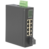 ROLINE Industrial Switch, 7x RJ-45, 1x SC, unmanaged
