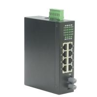 ROLINE Industrial Switch, 7x RJ-45, 1x ST, unmanaged