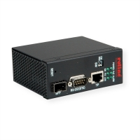 ROLINE Industrial Ethernet to Serial Media Converters (RS-232), 1x SFP