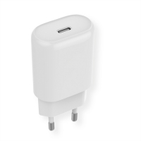 ROLINE USB Wall Charger, 1 Port (USB C), QC4.0, 18W