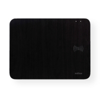ROLINE Wireless Charging Mouse Pad for Smartphones and Mice, 10W, black