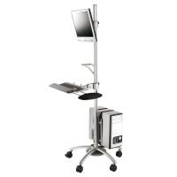 ROLINE LCD TV + PC Mobile Computing Platform, 180 cm