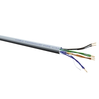 VALUE UTP Cable Cat.6 (Class E), Solid Wire, DCa, 100 m