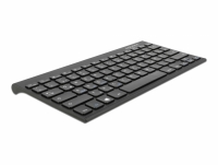 Delock Bluetooth Mini Keyboard for Windows / Android / iOS - rechargeable black