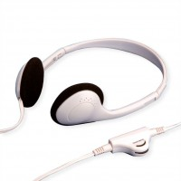 VALUE Stereo Headphone with Volume Control, light grey